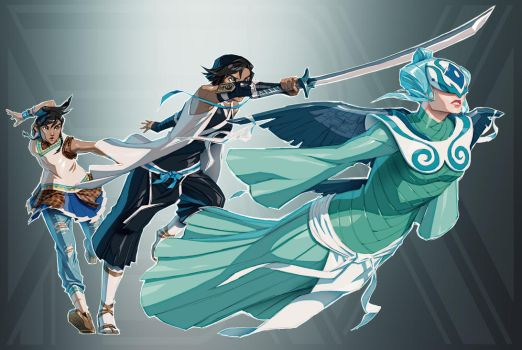 Legend of Korra + Bleach (FSRX 38) by ZedEdge