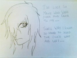 I've Lost So many Near and Dear To me..... by GrellSutcliffFanatic