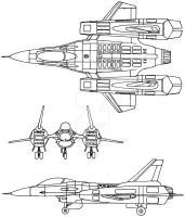 Space Fighter Concept by Keiichi-K1