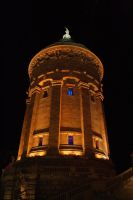 historic water tower by FreSch85