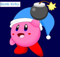 Bomb Kirby by Bowser2Queen