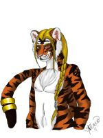 Tiger Anthro by TilSunlightDies