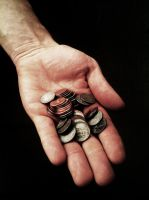Steel Pennies by AmyMaeFeely