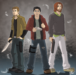 SPN: The Adventures of Ben by GI-Ace
