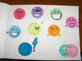 Emoticons by xDixielandx