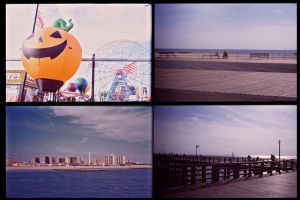 Coney Island by Aglaja-hall