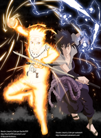 Naruto vs Sasuke Collab by Itachis999