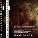 Ubuntu Win7 Sidebar v3 by Del-Korey