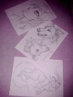 WiP: A-cards by Cally-Dream