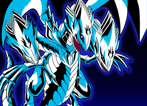 Blue Eyes Ultimate Dragon by Chase-TH