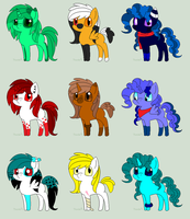 Pony adopts :DTA: by SnowInTheVeins