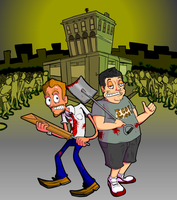 Shaun of the dead v.2 by Emanhattan