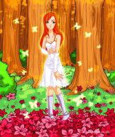 Enchanted forest kinda by Nuran-Cawthorne
