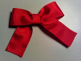 Simple Ribbon Brooch by GothicDorothy