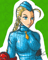 Cammy White Alpha by borockman