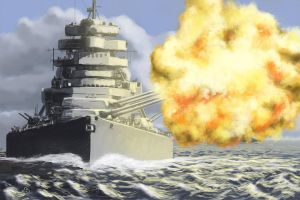 Sink the Bismarck by woutart