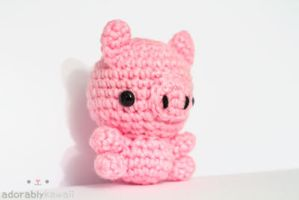Light Pink Pig 2 by tinyowlknits