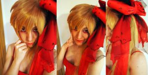Flandre Scarlet WIG and MAKE UP TEST by LarbillaCosplay