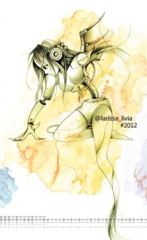 Cyborg Girl by Lal