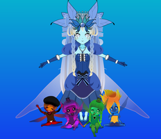 Crystal Children! by PizzaBurgers