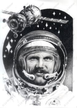 Bertalan Farkas, the only Hungarian cosmonaut by Araen