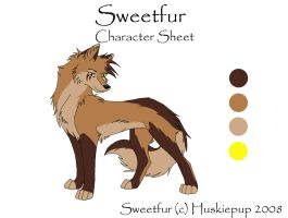 Sweetfur Char Sheet by HuskiePup