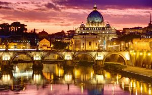  Rome By Night  `Dawn` by MythicalCreate