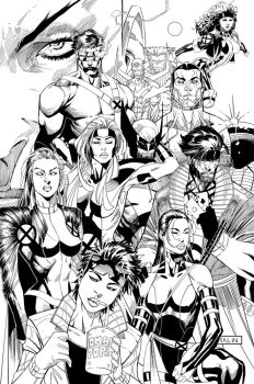 X-MEN92 by JonMalin