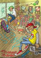 Sk8 Party by StraightEdge1977