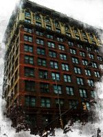 Grungy Old Building by pepsipepsibaby