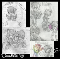 Old Doodles at school by Videogamescool