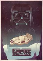 The Empire Strikes Back by jamesgilleard