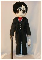 inspired by Johnny Depp as Barnabas Collins by Zosomoto