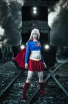 Kara Zor-El: Power house by jinxed-jem