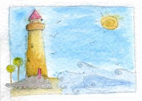 .lighthouse by immacola
