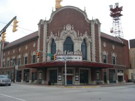Indiana Theatre by neice1176