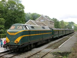 Dorinne-Durnal 150814 Diesel on the Bocq-line by kanyiko