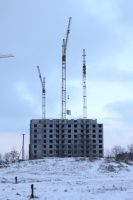 High-Rise Construction 8 by ManicHysteriaStock