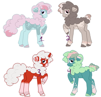More Floofpony Adoptables by AC-chan