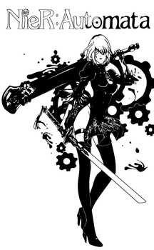 NieR: Automata by Sinned1990PD
