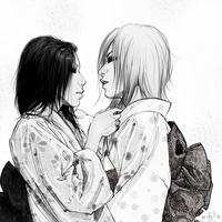 Aoi and Uruha by mittilla