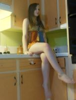On the counter. :p by TheUltimateCupcake