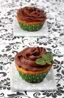 Two cupcakes by kupenska