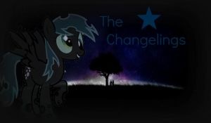 Derpy Changeling! [The Changelings] *Wallpaper* by RubytheCat12