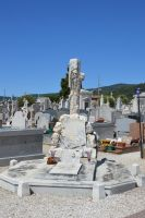 Cemetery in Provence by A1Z2E3R