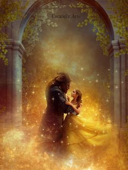 Beauty and the Beast by Ewariel