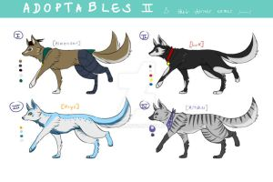 ADOPTABLES 2: OPEN! by devimu
