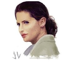 Stana Katic MS Paint by kasukoxan