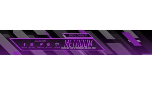 Metroum Youtube Banner by ProtoDesigns