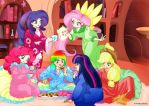 My Little Pony Slumber Party! by PumpkinChans
